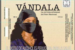 'Vándala', la cerveza del Paro Nacional de Colombia: ¿eh?